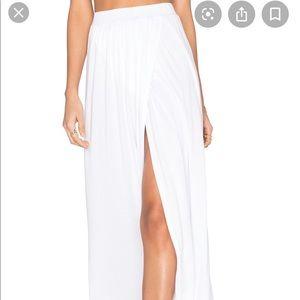 Michael Lauren White Maxi skirt